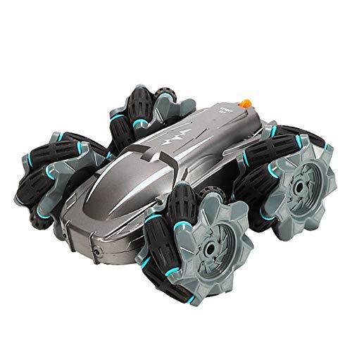 LWXXXA RC Stunt Cars Coche de Control Remoto, 360 ° Giratorio Drift Stunt Car, Radio Control Toy Car 2.4ghz RC Racing Cars para niños, con luz