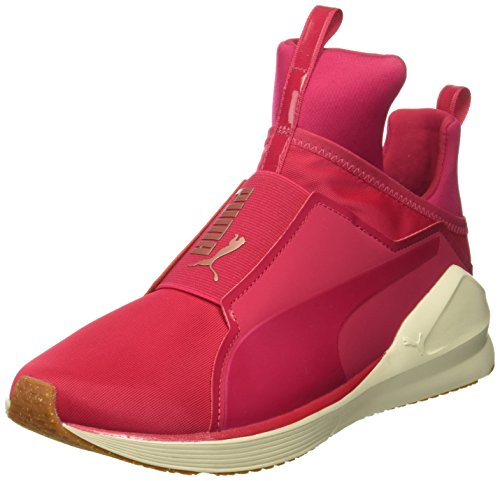PUMA Damen Fierce VR Wn Turnschuh, Pink/Weiß, 39 EU