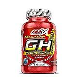 AMIX - Suplemento Deportivo - GH en Formato de 120 Cápsulas - Ayuda a Mejorar la Síntesis de Proteínas - Potencia el Desarrollo de Masa Muscular - Contiene L- Arginina