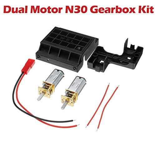 Dapei Dual Motor N30 Verzögerungsgetriebe Kit für WPL C14 C24 C14K C24K 1:16 RC Car