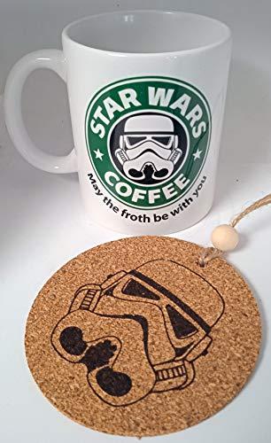 HobbyElx Taza y Adorno Star Wars Coffee