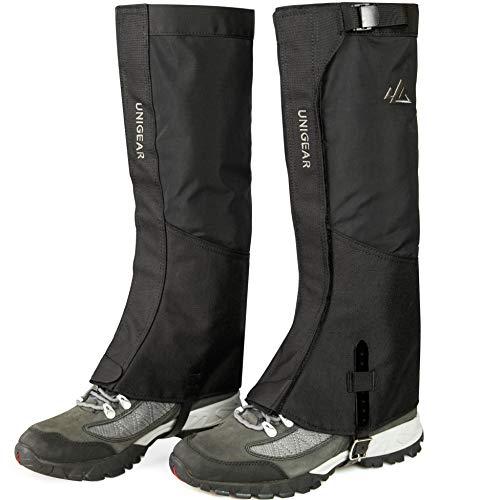 Unigear Outdoor Gamaschen, 1000D wasserdichte Gamaschen, Fabric Boot Gamaschen zum Wandern, Trekking, Klettern, Jagen und Skifahren Unisex
