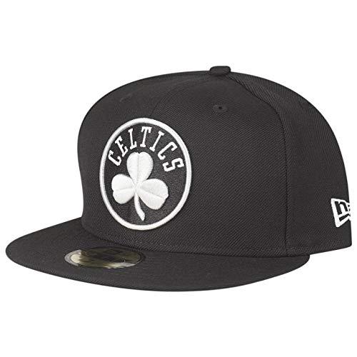 New Era 59Fifty Gorra Ajustada - NBA Boston Celtics negro/gris, Hombre, negro, 7 1/4