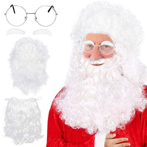 - Santa Perücke Und Bart Set