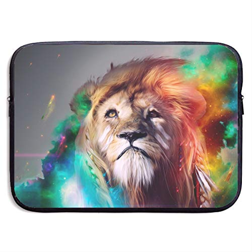 VEGAS Best Cool Lion Laptop Sleeve Case Bag Handbag for MacBook/Notebook/Ultrabook - Lightweight Carring Protector for 13 Inch Samsung Sony ASUS Acer Lenovo Dell HP Toshiba Chromebook Computers