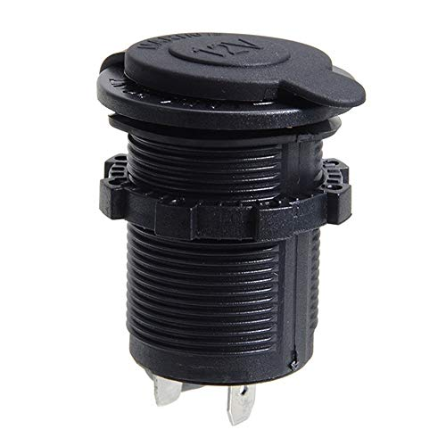 N\A Adapter für den Zigarettenanzünder wasserdichte Auto-Boots-Motorrad-Zigarettenanzünderbuchse Netzstecker Zigarettenanzünder 12V Outlet 1pc