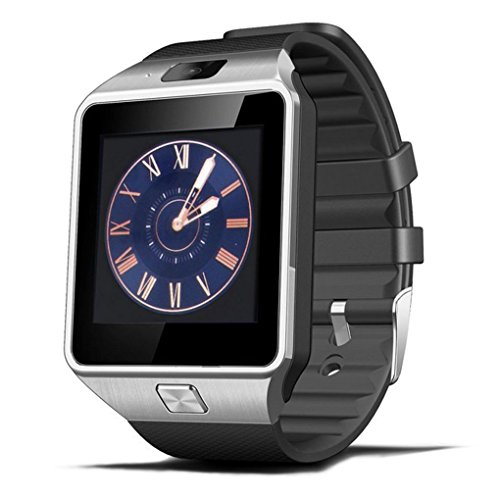 Kongnijiwa DZ09 Bluetooth Sport Smart Watch intelligente Uhr Bluetooth, TFT Unterstützung SIM-Karte 1,56 Zoll Touch Screen Watche