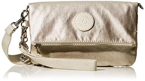 Kipling Lynne - Borse a tracolla Donna, Oro (Cloud Metal), 20x12.5x2.5...