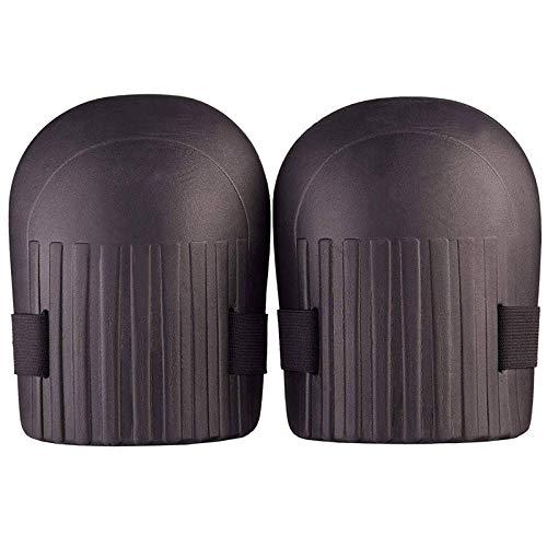 Tuin-kniebrace kniebeschermer zachte transmissiebak kniekussen kussen met verstelbare riem voor de tuin vloerreiniging, zwart