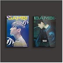 EXO Baekhyun Bambi 3º mini álbum álbum de fotos versão aleatória capa CD + 1p pôster + 2p pôster dobrável + livro de fotos...