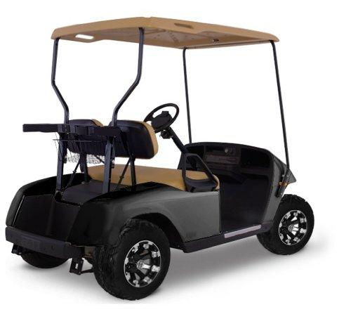 EZGO TXT Golf Cart Body Kit, Black, 41.5-Inch