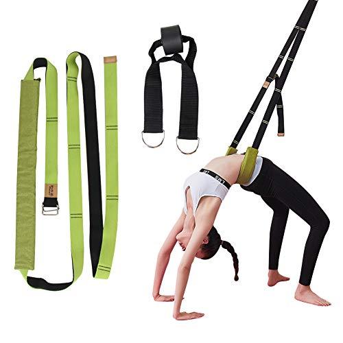 JULY'S SONG Yogagurt Dehnungsband Beinstretcher Stretch Band Beinspreizer aus Baumwolle für Yoga Ballett Gymnastik Training