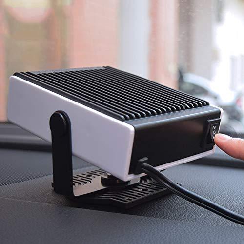 enomaa Riscaldatore per Auto da 150 W, sbrinatore sbrinatore per Auto da 12 V, riscaldatore Elettrico per Auto 2 in 1, Ventilatore per riscaldatore Portatile per Auto