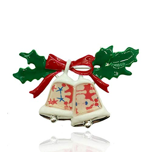 AIXZHEN Kerst Klokken Broche Voor Vrouwen Kerstboom Bell Emaille Pins Bell Kerstmis Bauble benodigdheden