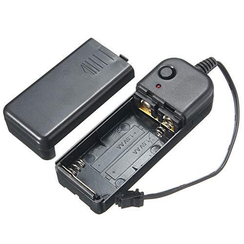 ILS - LED EL Controller Driver DC 3V LED Strip Battery Box für 1-10M LED El Wire Glow Flexible Neon Decor