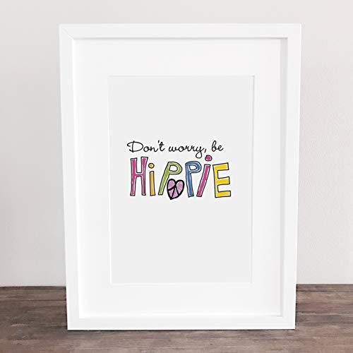 Bild, Poster, Kunstdruck, Deko, Wanddeko, Lachen, Motivation, Lifequotes, happy, Spruch