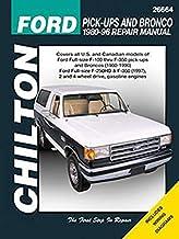 Ford Pick-Ups & Bronco, 1980-96 (Includes 1997 F-250HD & F-350)