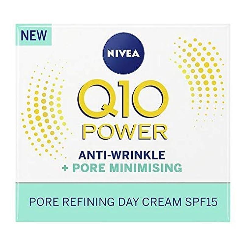 [Nivea ] ニベアQ10パワー抗シワ+ポアリファインデイクリーム50Ml - NIVEA Q10 Power Anti-Wrinkle + Pore Refine Day Cream 50ml [並行輸入品]
