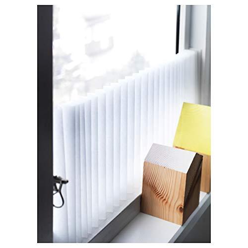 2er Set IKEA SCHOTTIS Plissee 90x190 cm weiß