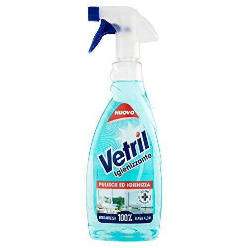 Vetril - Spray Igienizzante Superfici, Contro Batteri e Cattivi Odori, Brillantezza Senza Aloni, 650 ml