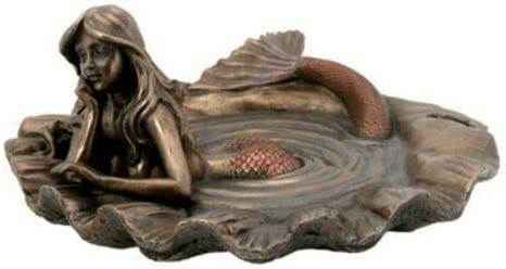 Art Great interest Nouveau Max 69% OFF Mermaid Tray - Figurine Sculpture Collectible Statue