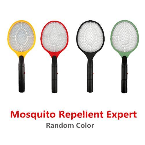 Eliky Elektrische Vliegtuig Handheld Elektronische Swat Bug Muggen Insect Wesp Zapper Killer