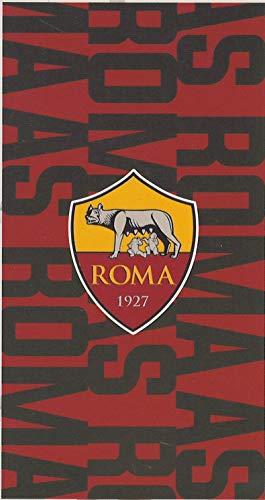 Strandtuch aus 100 % Frottee aus reiner Baumwolle, Chenille, offizielles Produkt Roma, AS Original Maxi, 90 x 170 cm