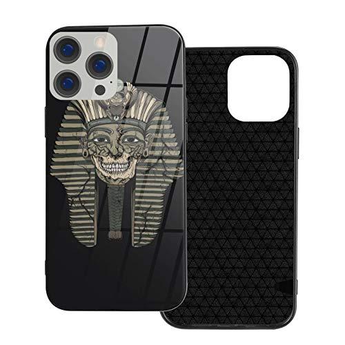 Egyptian Pharaoh iPhone 12, iPhone 12 Mini, iPhone 12 Pro, iPhone 12 Pro, iPhone 12 Pro Max, cristal templado, resistente a los golpes y arañazos