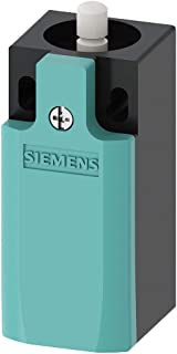 Siemens 3SE5 232-0BC05 Mechanical Position Switch, Complete Unit, Plastic Enclosure, 31mm Width, Rounded PTFE Plunger, Slow Action Contacts, 1 NO + 1 NC Contacts