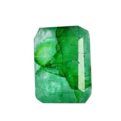Grüner Smaragd 5,50 Karat. Mai Birthstone Green Smaragd lose Edelstein für Schmuck Machen AO-683