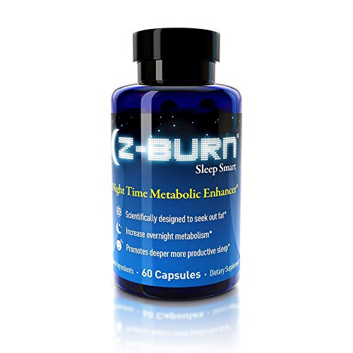 Z-Burn- 60 Capsules - Night Time Fat Loss Supplement -'Sleep Great, Lose Weight!' Better Sleep, Fat Loss, Muscle Recovery, Curb Cravings - Guaranteed Results
