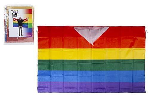 Toyland® Regenboog Trots Kaapse Vlag met Kap - Feestaccessoires - LGBT