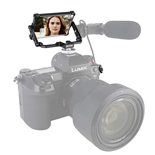 NICEYRIG Kamera Flip Bildschirm Spiegel Faltbar Selfie Vlog für Sony A6000 A6300 A6600 A6400 A7III A7II Serie für Fujifilm XT2 XT3 XT-4 XT20 XT30 Canon 5D
