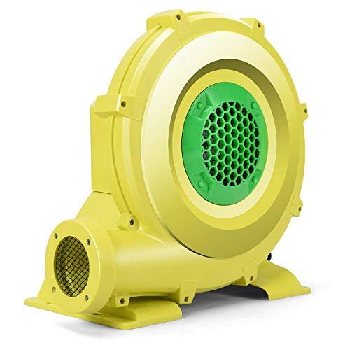 Read About Air Blower Pump Fan 950 Watt 1.25HP for Inflatable Bounce House Bouncy Castle