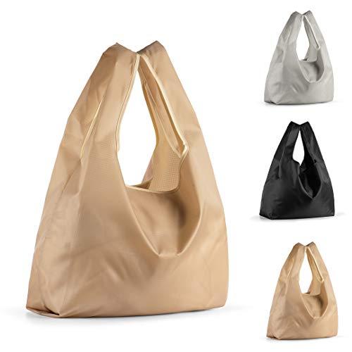 【3枚セット】エコバッグ コンビニバッグ 折りたたみ 買い物バッグ 大容量 防水素材 軽量 買い物袋 ショッ...