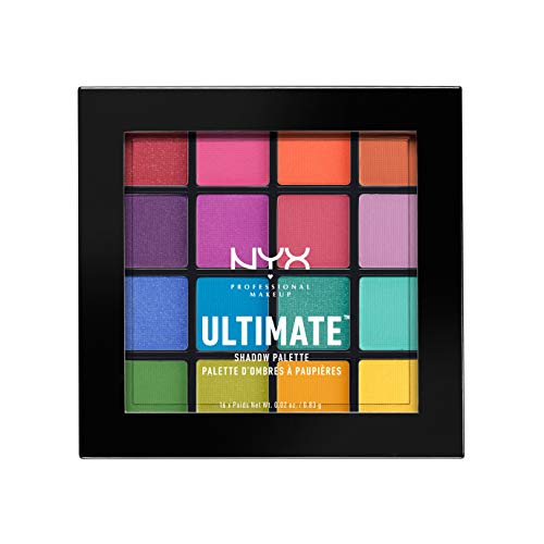 Nyx Caribbean Collection 5color Eyeshadow Palette In I Dream Of Barbados