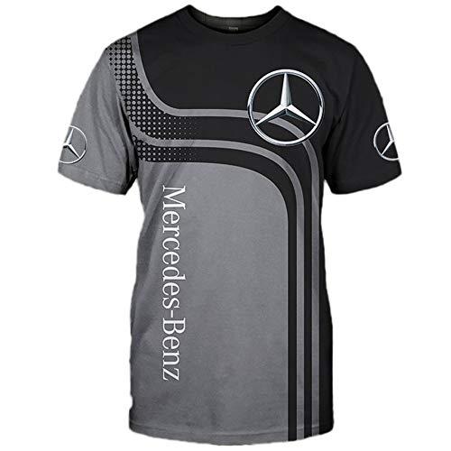 SPONYBORTY Herren Hooded Jacke,Hoodie,T-Shirt Mercedes-Benz 3D Drucken Leicht Sweatshirt Unisex Beiläufig Sportkleidung Mantel/C/XXXXL