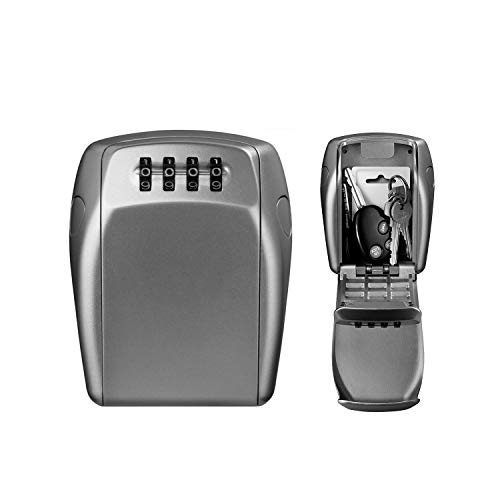 MASTER LOCK Schlüsseltresor [Extra Sicherheit] [Wandmontage] [Large] [Wetterfest] - 5415EURD - Schlüsselsafe