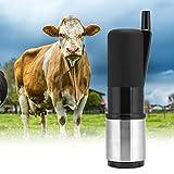 Controlador de pulso de leche Taza de garra de ordeño Taza de tetina de vaca Taza de ordeño Accesorio para máquina de ordeño para máquina de leche Uso de(Black (HL-MP27B))