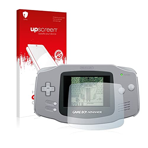 upscreen Film Protection Ecran en Verre Trempé Compatible avec Nintendo Gameboy Advance GBA - Hybrid Glass 9H Dureté