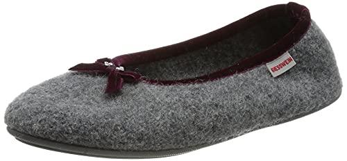 Giesswein Giesswein Damen Hohenau Pantoffeln, Grau (017 Schiefer), 38 EU