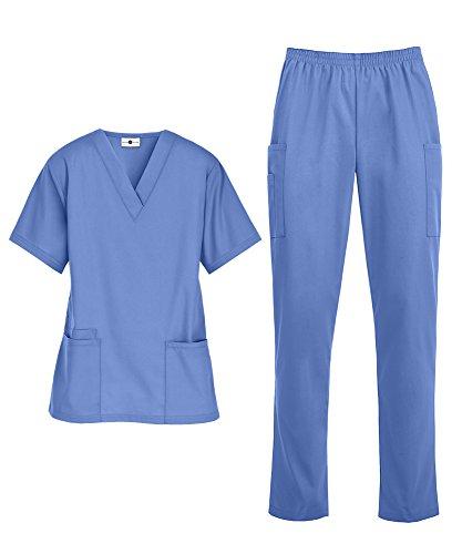 Strictly Scrubs Women's Scrub Set (Ceil, Large)
