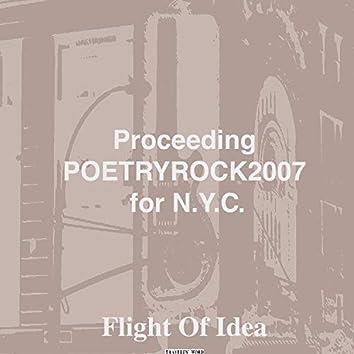 Proceeding Poetryrock2007 for N.Y.C.