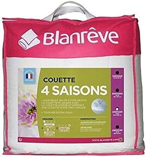 Blanreve Couette 4 Saisons - 220 x 240 cm - Blanc