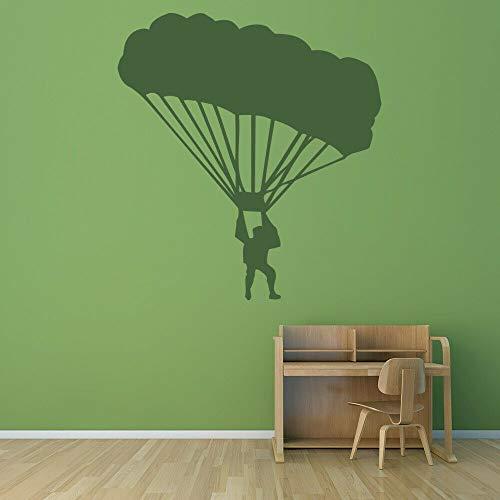 Geiqianjiumai fotobehang kleuterschool kinderkamer parachutespringen vinylwand jongens slaapkamer woonkamer