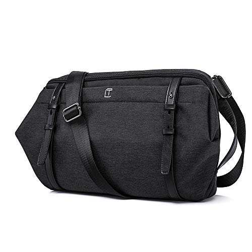 [FONOSYU] ショルダーバッグ ボディバッグ ワンショルダー ビジネスバッグ 旅行カバン メンズ レディース 斜め掛け 2色 軽量 防水 通勤 通学 旅行 アウトドア 男女兼用 胸バッグ iPad収納可 PC収納可能 カバン バッグ