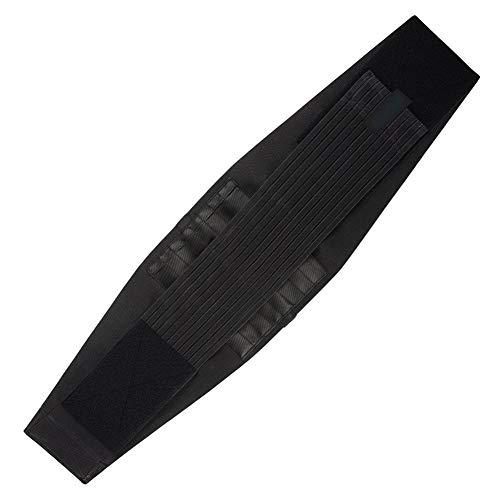 WCX Faja Lumbar Cinturón de Soporte Lumbar con Resorte de Metal Corrector de Postura y...