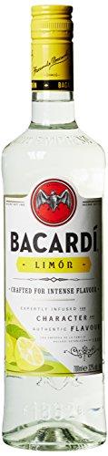 BACARDI Limón Spirituose mit Rum und Citrusgeschmack (1 x 0.7 l)