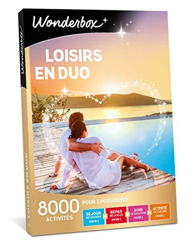 Wonderbox – Coffret cadeau - LOISIRS EN DUO – 8 000...