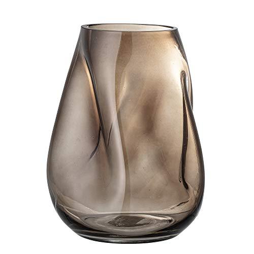 Bloomingville Vase, braun, Glas
